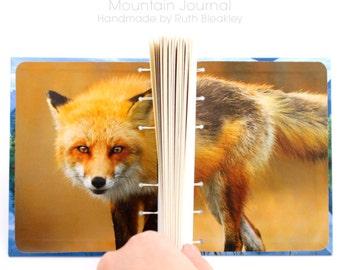 Mountain Lake Journal - handmade by Ruth Bleakley