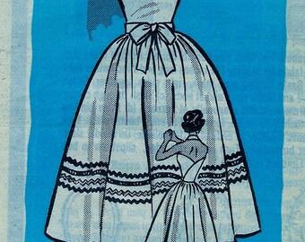 Marian Martin  Pattern 9048 * BOMBSHELL Misses' Halter Wrap Dress, Fitted bodice, Full skirt  -  size 12..bust 32