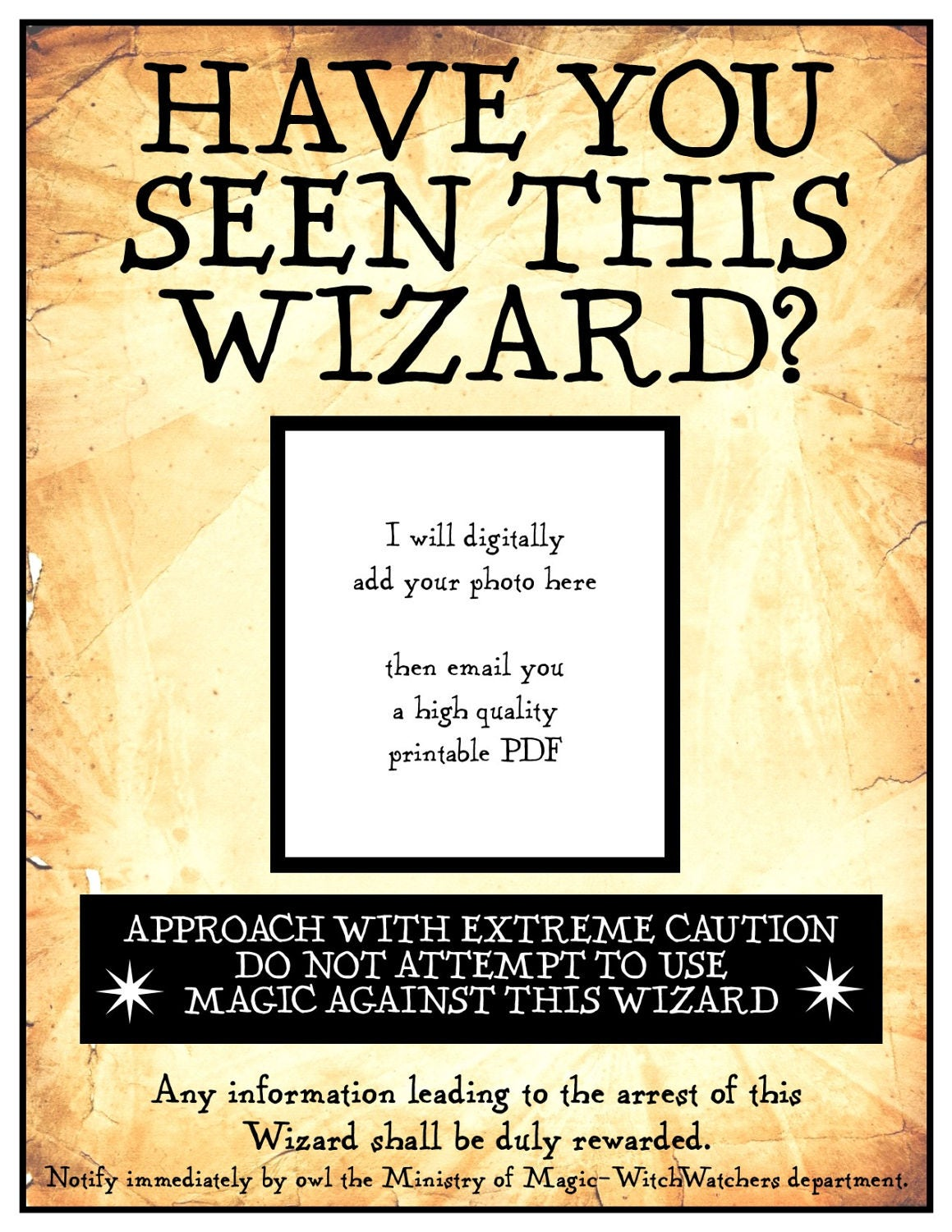 Sassy image intended for have you seen this wizard printable