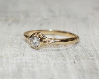 Branch engagement ring Etsy