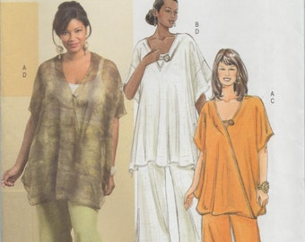 Butterick 4816 / Out Of Print Sewing Pattern / Tunic And Pants / Sizes 18 20 22 24