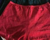 Set of 3 Victoria's Secret Velour Boy Shorts for Women - Size Medium