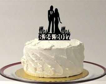 Lesbian wedding cake Etsy