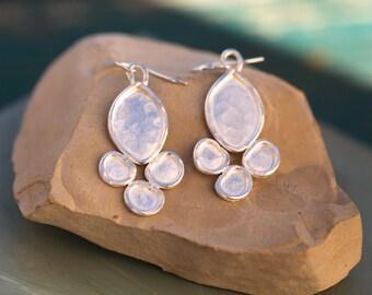 Silver Luster Earrings