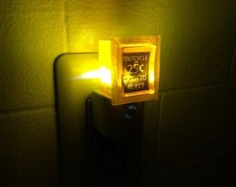25 Cent Pinball Arcade Video Game LED Night Light
