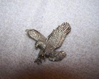 Lazer Cut Silver Eagle Bolo Tie Clasp