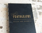 1947 PHOTOGRAPHY Vintage Book Notebook
