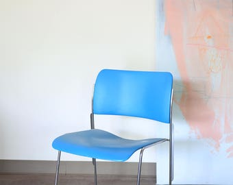 David Rowland 40/4 Chair in Sky Blue