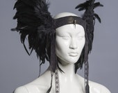 Headdress and shoulder piece reserved for Anisa Sabet