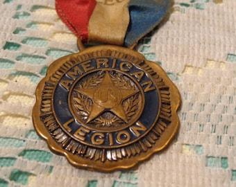 Vintage American Legion Medal - American Legion Connecticut Delegate Medal - 1921  - K - 1715