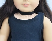 AG Doll Clothes - Black Choker, Necklace, 18 inch, Accessories, Jewelery