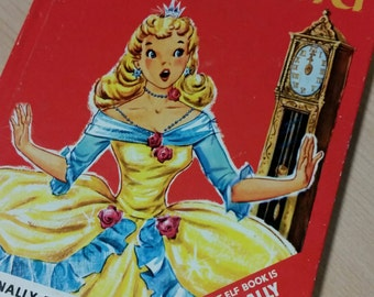 Cinderella Rand McNally Elf Hardback Book
