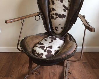 The Ultimate Western Style Repurposed Horse Collar And Hames Chair