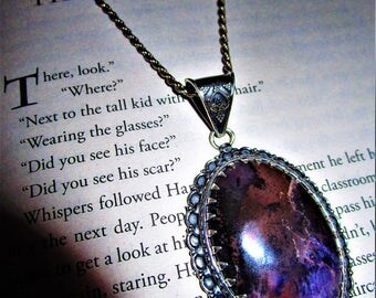 The Potions Master - Sterling Silver Sugilite Pendant - The Violet Flame, Dream Magic, Enchantment, Lucid Dreams, Love, Passion, Cleansing
