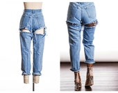 NEW STYLE  CHEEKY Mom Jeans also in Plus Sizes