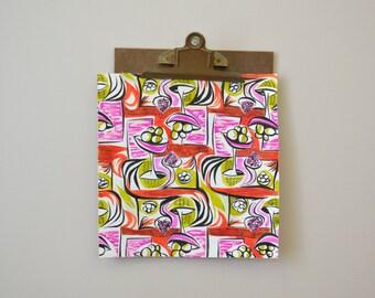 1960s Textile Design Original Artwork