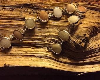 Sterling Silver Handmade rock bracelet Lewes Delaware