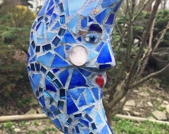 Blue Moon Garden Stake