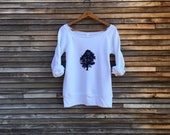 sittin under the Oak Tree Sweatshirt, Camping Top, Tree Sweater, Eco Friendly,  S,M,L, XL,2XL