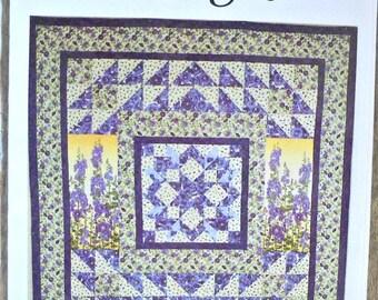 Broken Blooms quilt pattern by Sew Much Fun Designs