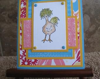 Handmade Card - Stampin Up - Hey Chick