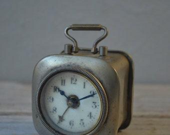 Antique Miniature Alarm Clock