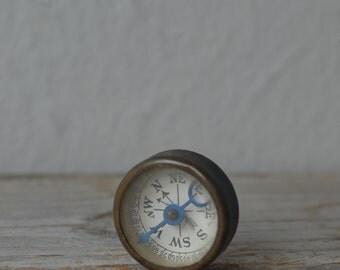 Antique Advertising Compass
