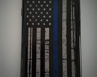 Thin Blue Line iPhone 6/6s Cover