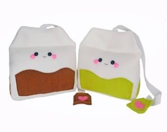 Tea bag kawaii plushies stuffed toys home decor green tea english tea herbal