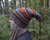 Elf Hat - Streeler - Pointed Knitted Beanie - READY TO SHIP