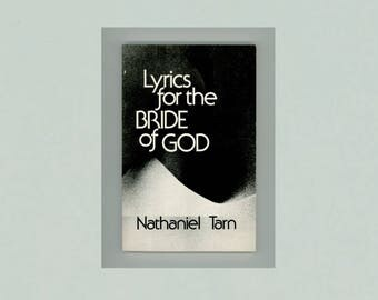 Lyrics for the Bride of God, a Book - Length Poem by Nathaniel Tarn, 1975, Vintage New Directions Paperbook NDP391, First Paperback Edition