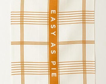 Linen Tea Towel - Easy as Pie
