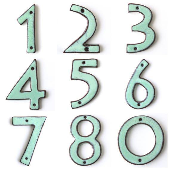 House Numbers Mid Century Modern Ultra Modern 4