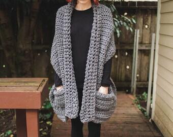 Shōru - Handmade Crochet Shawl Cardigan