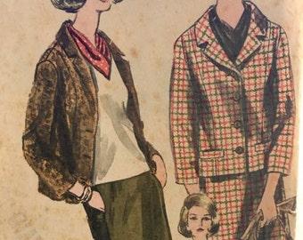Vintage Vogue 1963 Skirt, Blouse, Jacket and Scarf Pattern
