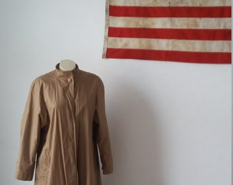 Albert Nipon trench coat, rain jacket, vintage trench, designer jacket, size 4, perfect condition, vintage trench