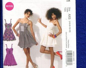 McCalls 6561 Flirty Summer Time Dress Size 4 to 12 UNCUT