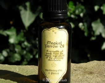 Yarrow Oil 25ml: Witchcraft, Occult, Magic, Wicca, Pagan