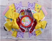 100 Days of School Hair Bow, School Outfit Accessories, School Bows, 100 Days Smarter