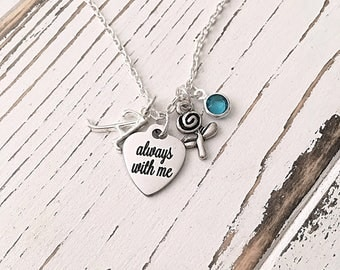 Personalized Always with Me Necklace