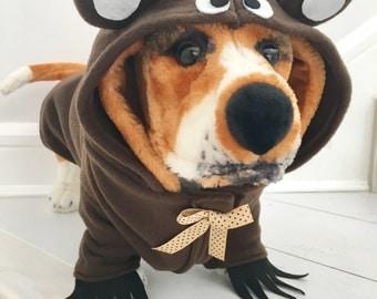 Bear costume by FiercePetFashion