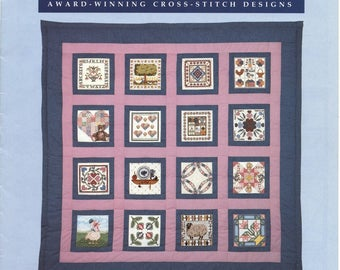 Country Quilt Cross Stitch Designs Patterns Quilt Wall Hanging
