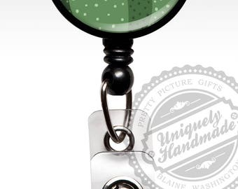 Badge Reel, Cactus Retractable Badge Holder, Cute Cactus Badge Clip, Rn Cna Doctor Id Badge, Nursing Student Graduation Gift for Her 561