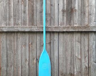 Turquoise Blue Boat Paddle
