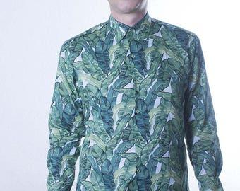 Leaf shirt - Banana - BAÏSAP