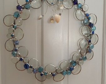 Large Stained Glass Wreath