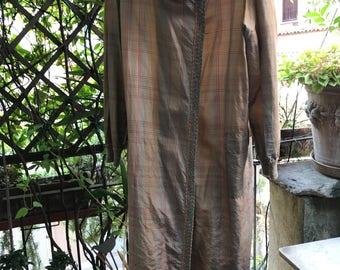 Vintage 1970s silk raincoat by MISSONI 1973