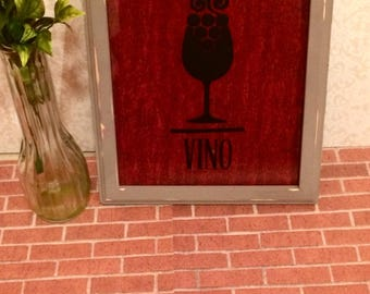 Wine Wall Art - Wine Decor, Wine Gift, Wine Decal, Wine Cork Art, Gifts For Her, Kitchen Decor, Kitchen Sign
