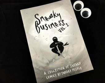 Sneaky Business vol. 2 Self-Published Comics Anthology Zine