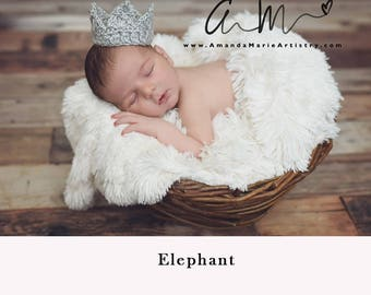 Baby Boy Crochet Crown, Adjustable Prince Baby Boy Crochet crown  Baby Boy Crown Photo Prop Baby Shower Gift